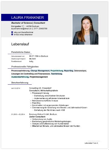Professionelle OpenOffice-Vorlage
