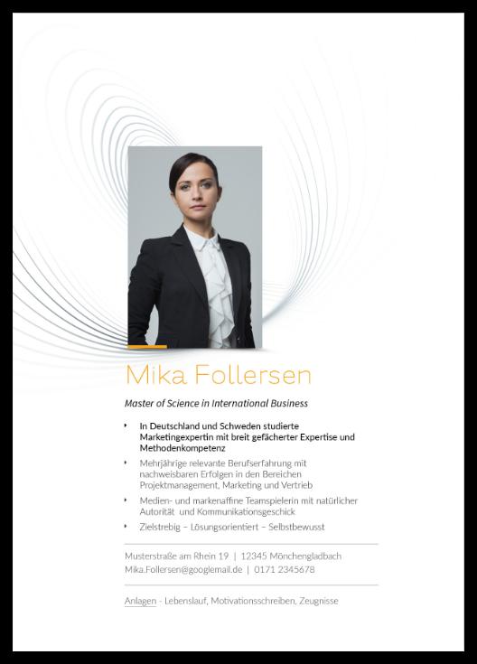 Bewerbungsvorlage Organisationstalent - 15,95 €