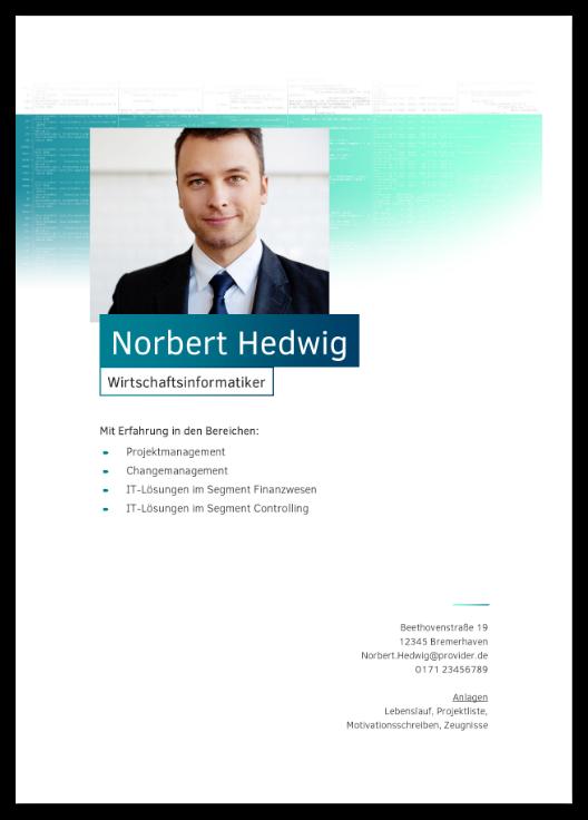 Bewerbungsvorlage IT-Spezialist - 22,95 €