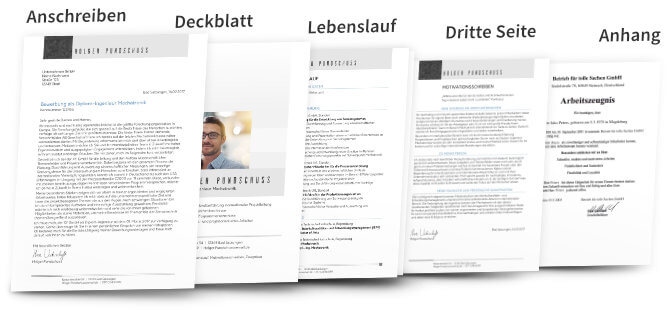 Bewerbungsunterlagen Dokumente
