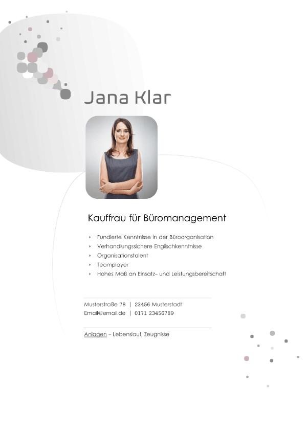 Deckblatt Kauffrau für Büromanagement