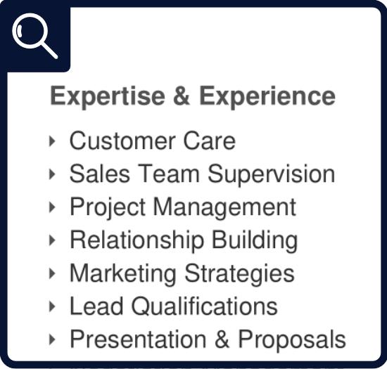 Résumé - Area of Expertise