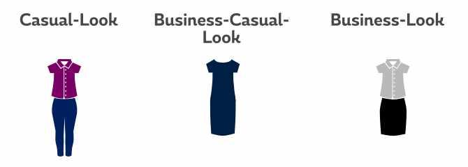 Vorstellungsgespräch Kleidung Frau